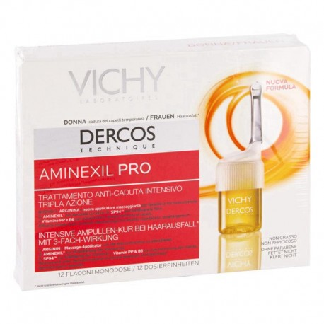 Dercos Aminexil Pro for Women 12 Ampoules