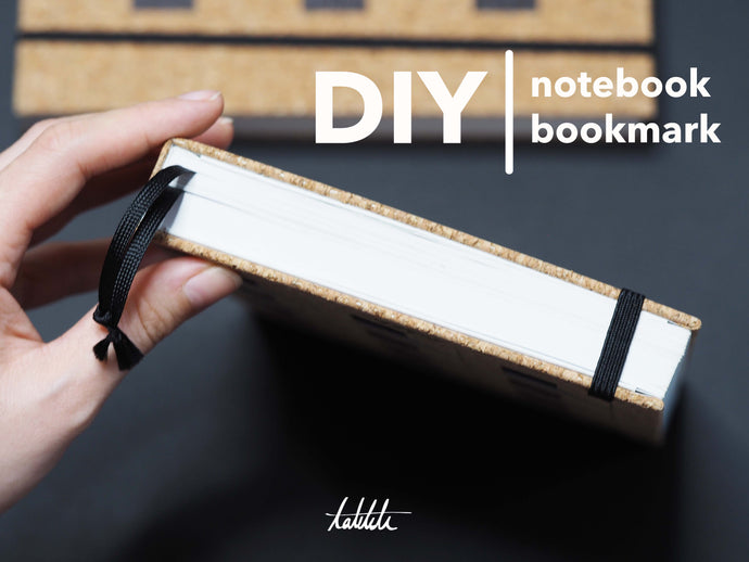 how to make your own notebook bookmark