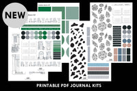 takkti printable bullet journal kits pdf designs