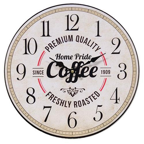 *Home Pride Coffee Clock
