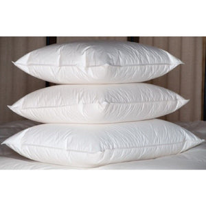 "16""X 16""- 95% FEATHER 5% DOWN SQUARE PILLOW INSERT - PREMIUM QUALITY"