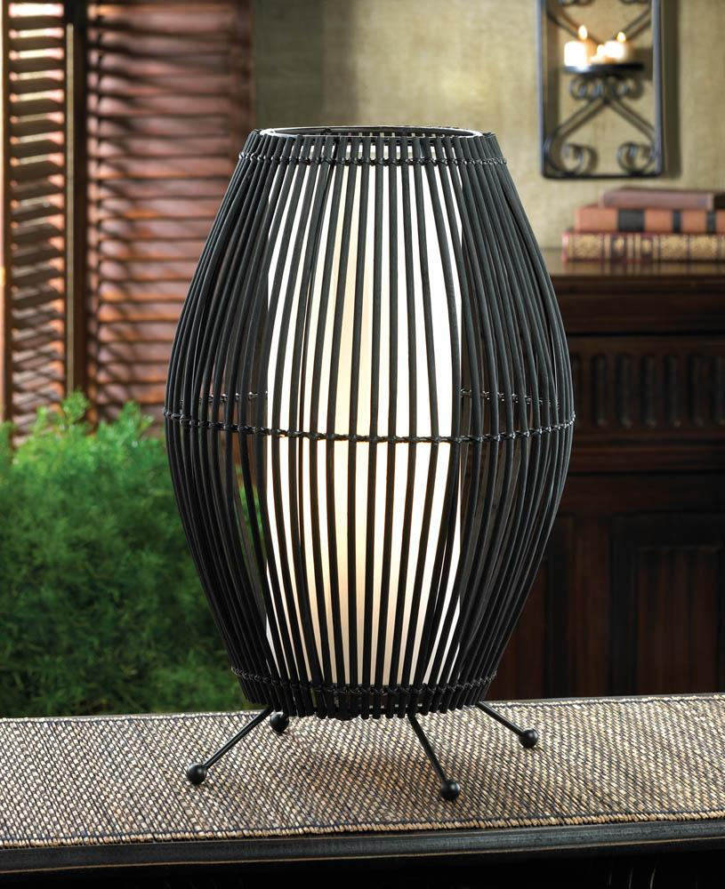 Metal Slat Convex Lamp