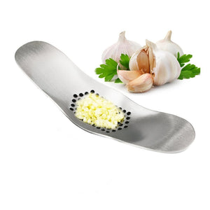 Garlic Mincer, Stainless Steel Garlic Press, Squeezer Slicer