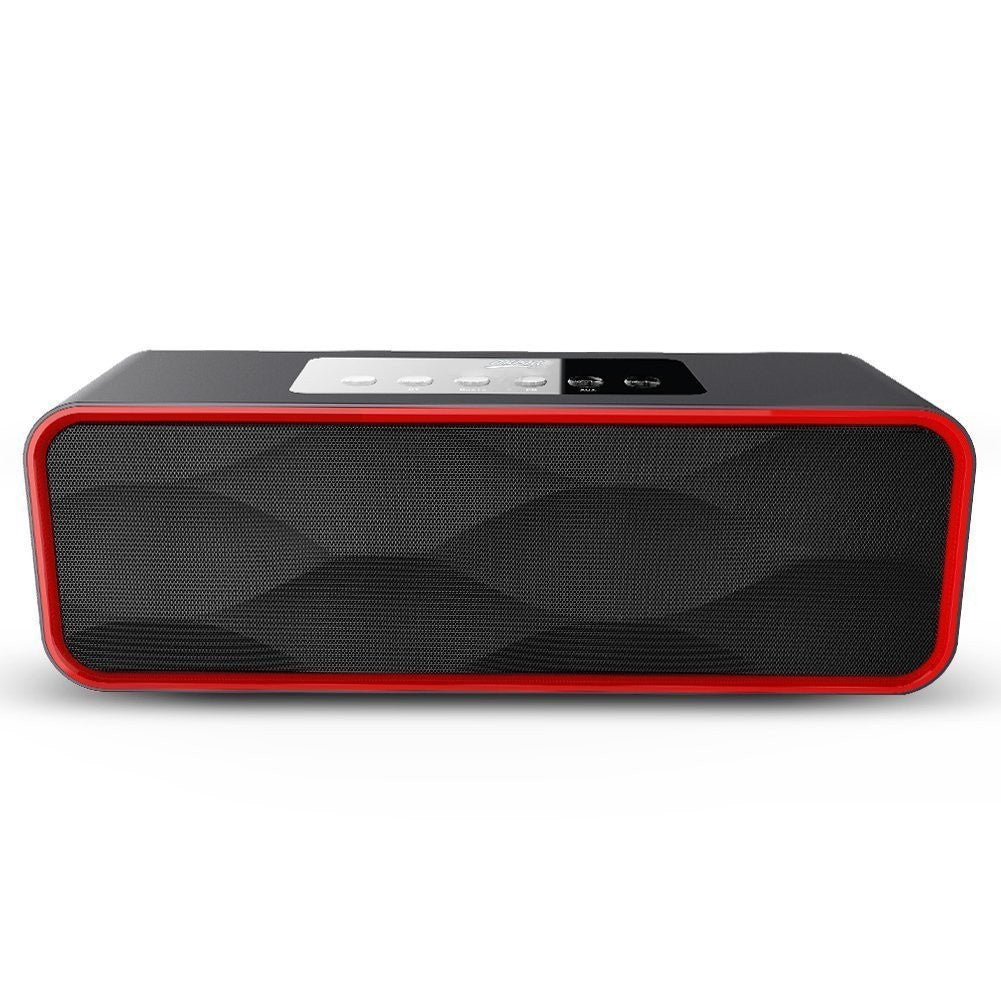DY22 Portable Wireless Bluetooth Speaker FM Radio MP3 Player Super Bass Subwoofer Outdoor Sport Sound Box Sports Speaker