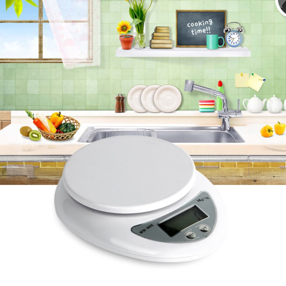 5000g/1g 5kg Digital Scale Food Diet Postal Scales Balance Electronic Weight Weighting LED Drop Shipping