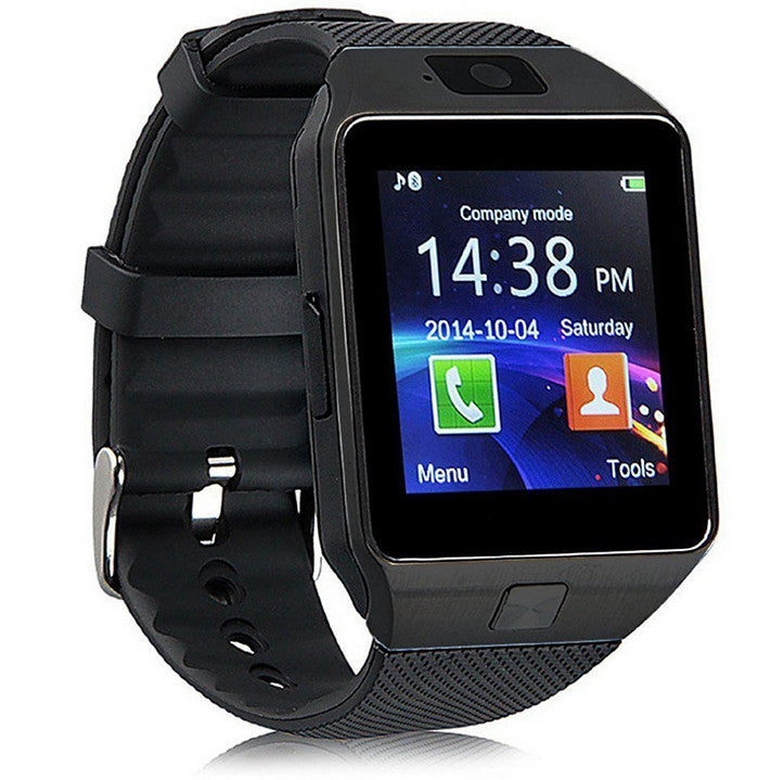 DZ09 Smart Watch Phone Wrist Watch with Camera Touch Screen GSM SIM TF Slot Support Pedometer Sleep Monitor for iOS Android