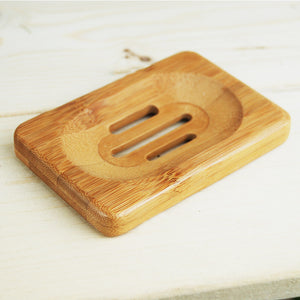 Mini Style Bamboo Soap Box