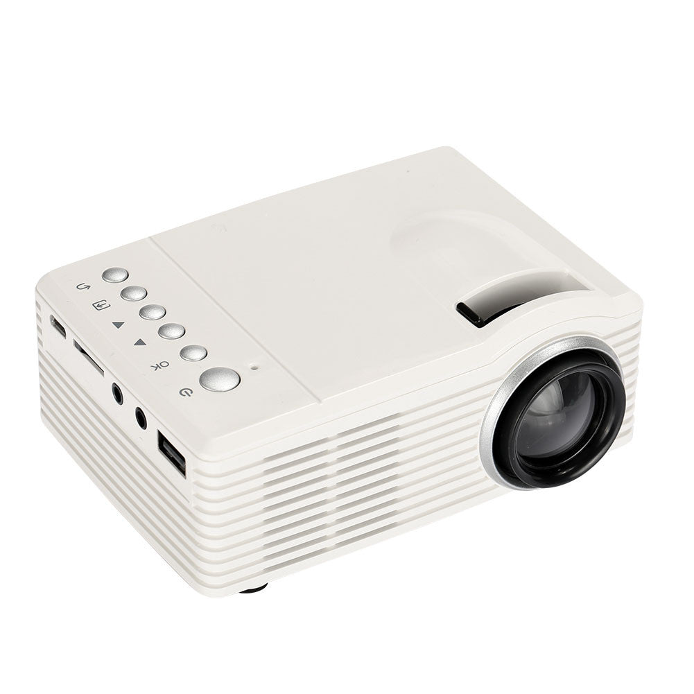 Video Projector SD30 LED Projector Portable School Home Cinema Mini Projector D-TV AV Manual Focus Teaching Office