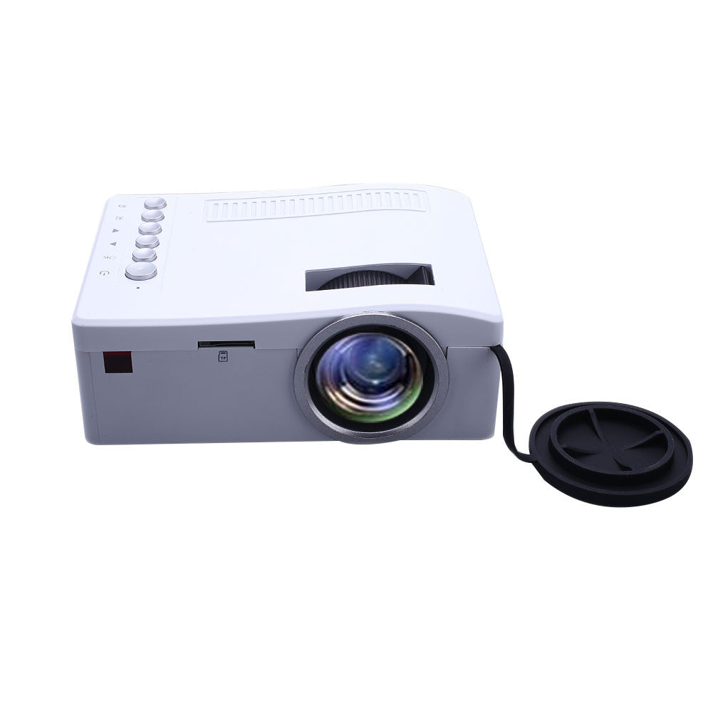 Mini Portable UC18 Home Cinema HD Video Projector Support AV VGA USB Port