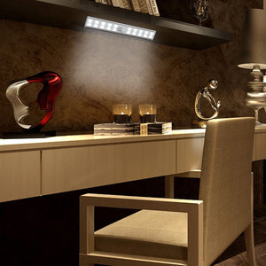 Motion Sensor LED Night Light 20 LEDs Wireless Led Closet Lights USB Rechargeable Table Lamp Cabinet Bookcase Light