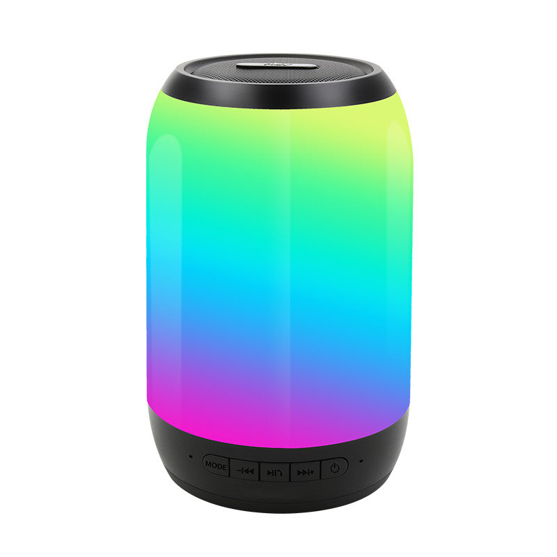 2018 NBY2260 Mini Bluetooth Speaker LED Light Portable Outdoor Wireless Stereo Speaker Built-in Microphone Handsfree TF Card AUX MP3 Music Play FM Radio For iPhone Samsung Bluetooth Driver Computer iPad Tablet Laptop