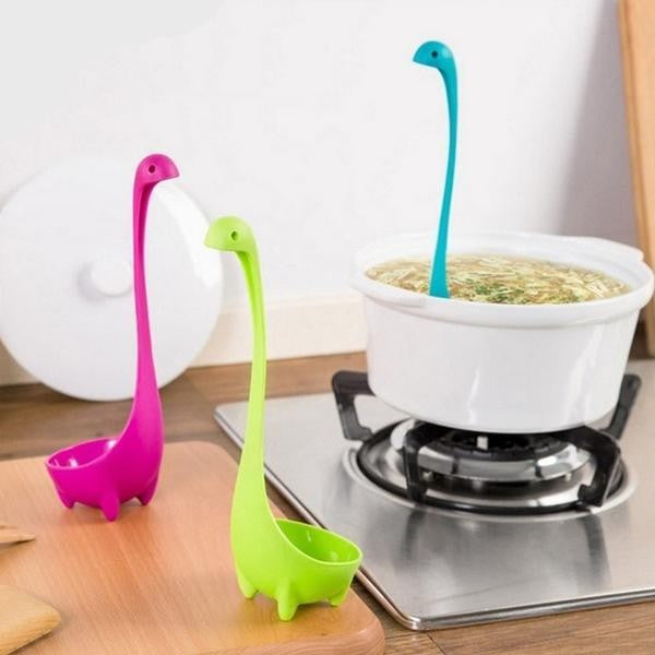 Creative Wanted Spoon Original Design Cooking Tool Ladle Nessie