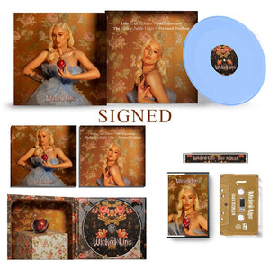 (Signed) Wicked Lips LP + Tape + CD Bundle