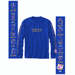 Lola - Different Personalities - Blue Long Sleeve
