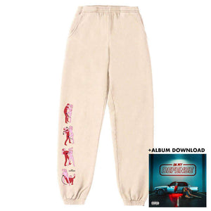 Defender - Limited Cream Sweatpant