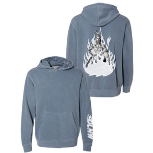 DLNW BLUE HOODIE