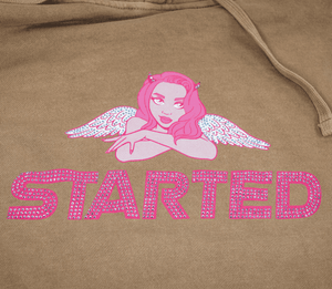 Started Pullover Hoodie