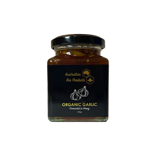 Fermented Garlic Honey