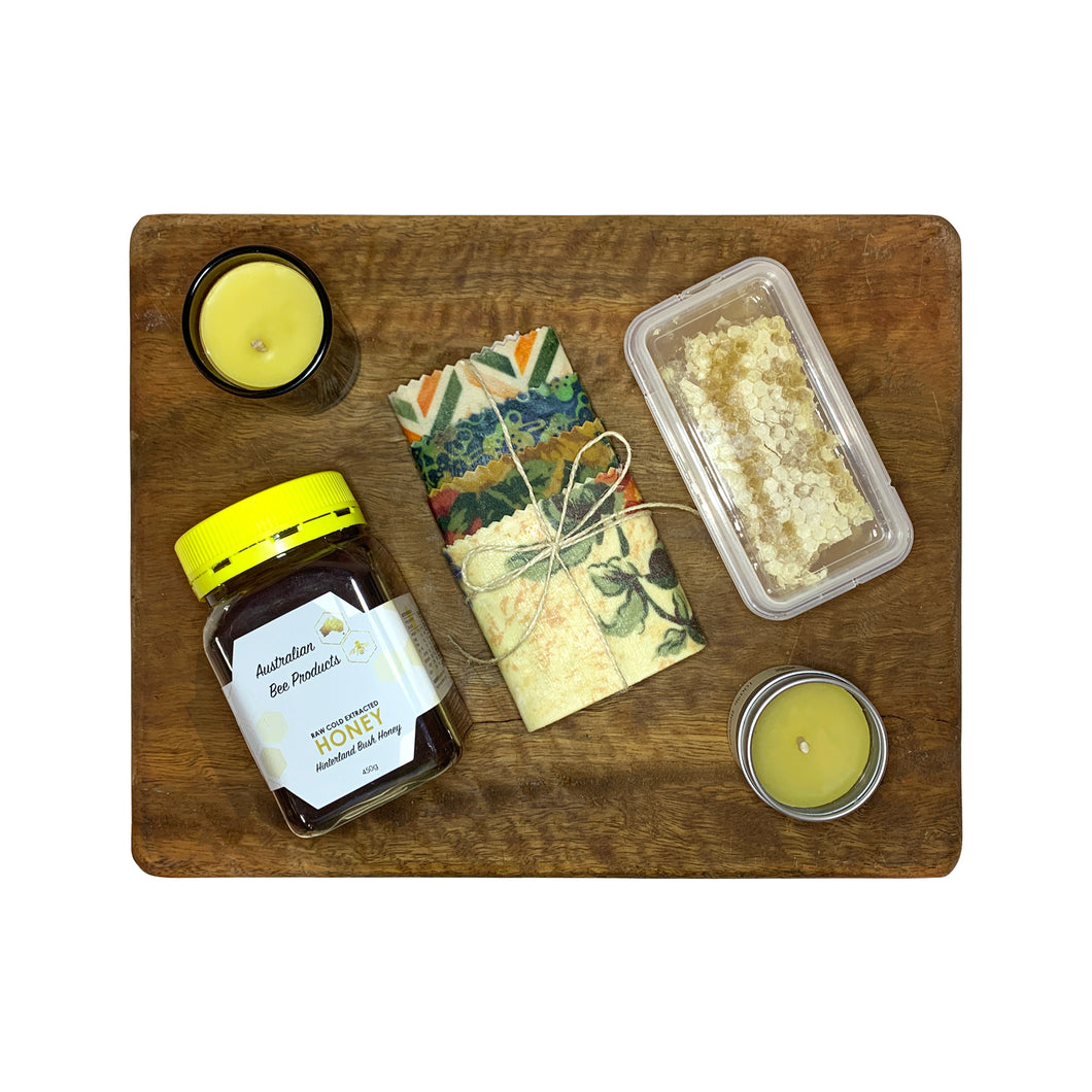 Natural Beeswax + Honey Gift Pack 1