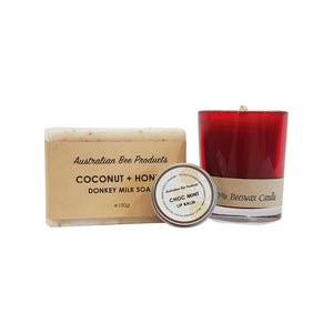 Handmade Soap, Balm + Candle Gift Pack