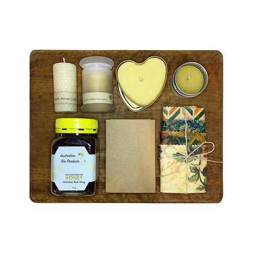 Natural Beeswax + Honey Gift Pack 3