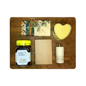 Natural Beeswax + Honey Gift Pack 2