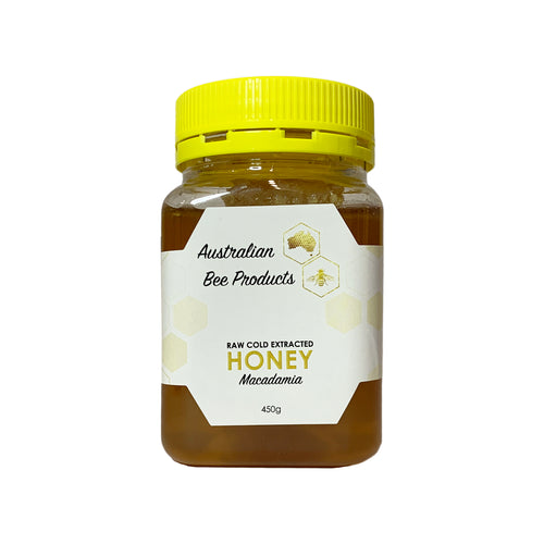 Macadamia Honey with Honeycomb 450g