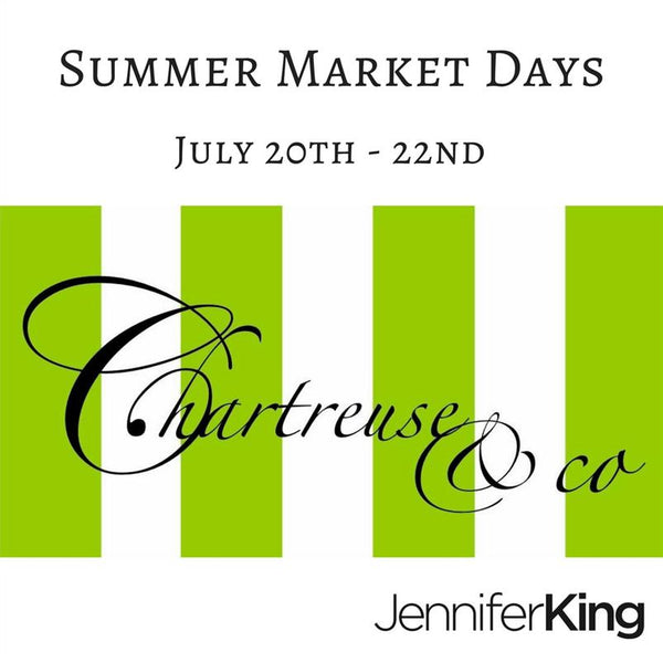 Chartreuse & Co. Summer Market Days