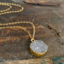 Druzy Necklace / Round
