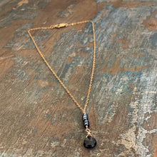 Jenna Necklace / Black