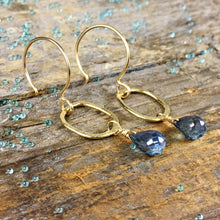 Sarina Earrings / Blue