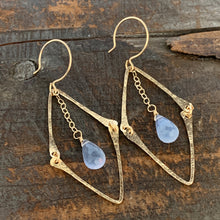Florence Earrings / Lavender