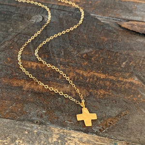 Cross Necklace / Square