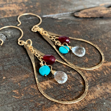 Bella Earrings / Turquoise