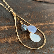 Cali Necklace / Teardrop Lavender