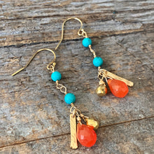 Orange Crush Earrings