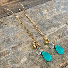 Venice Earrings / Aqua