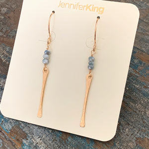 Lexi Earrings / Grey