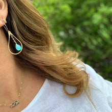 Mirage Earrings / Aqua