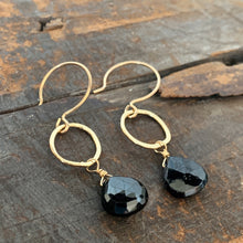 Sarina Earrings / Black