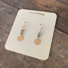 Quest Earrings / Circle • Gray