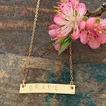 BRAVE Necklace | Give Back
