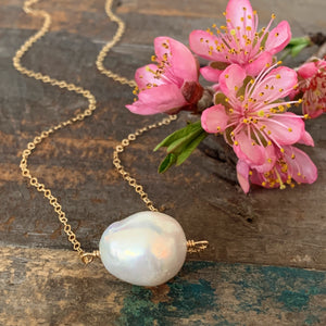 South Sea Necklace - White