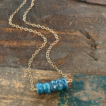 Ava Necklace - Blue