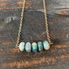 Ava Necklace - Green