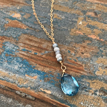 Jenna Necklace / Blue