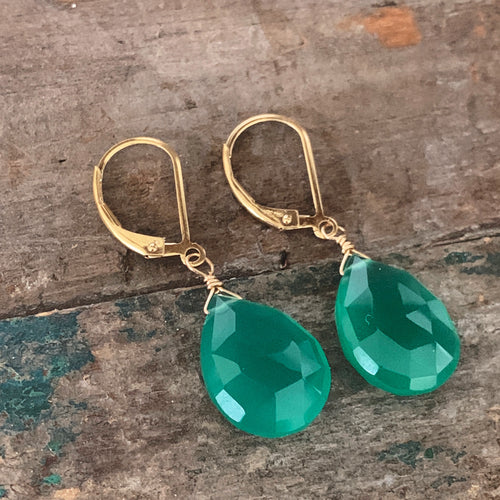 Aruba Earrings / Green