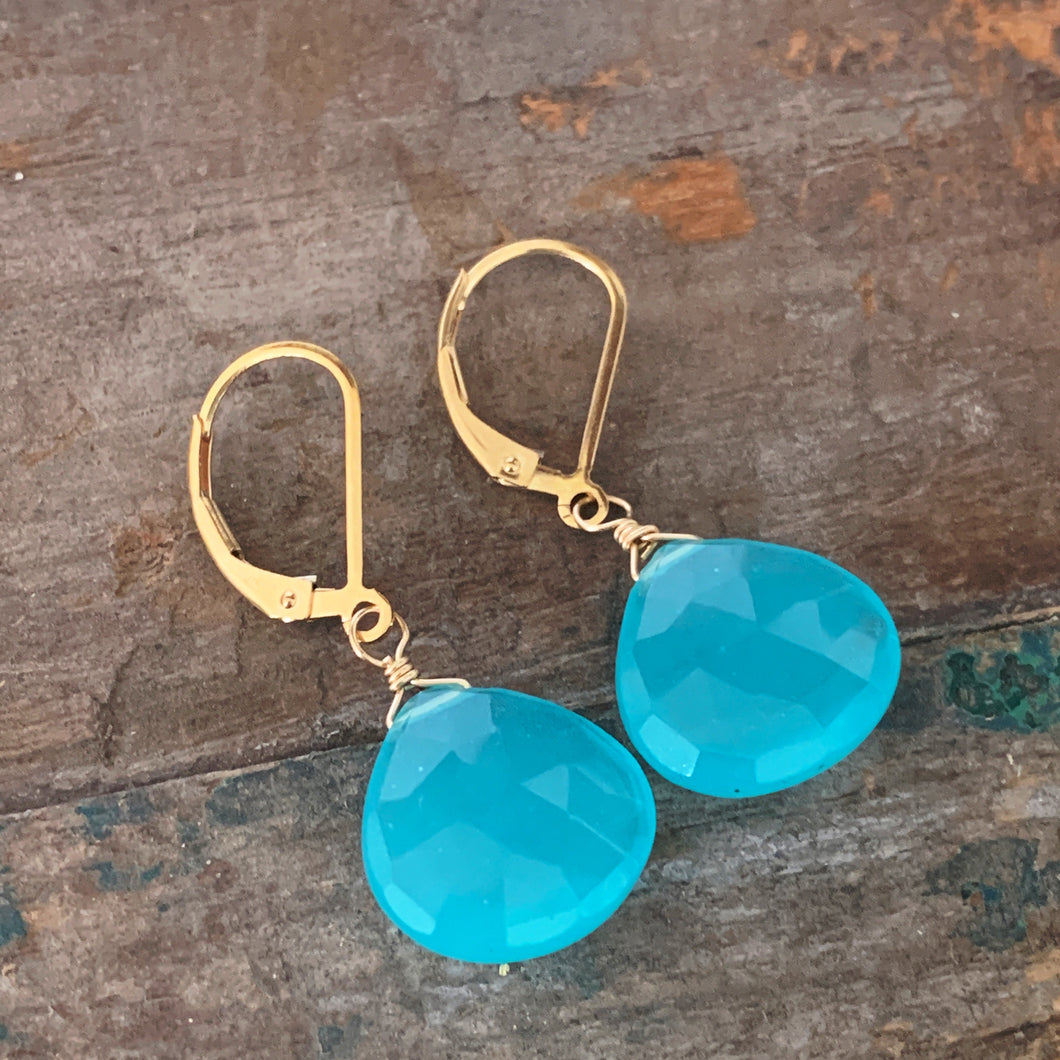 Aruba Earrings / Blue