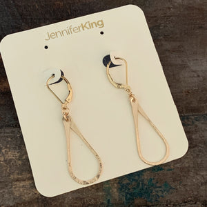 Teardrop Earrings - Small