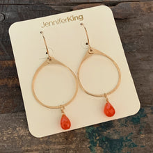 Sophia Earrings / Orange